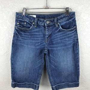 Banana Republic denim short, classic straignt leg
